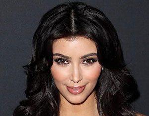 La socialite Kim Kardashian