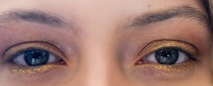 Los ojos dorados son la nueva tendencia en maquilaje Famosases