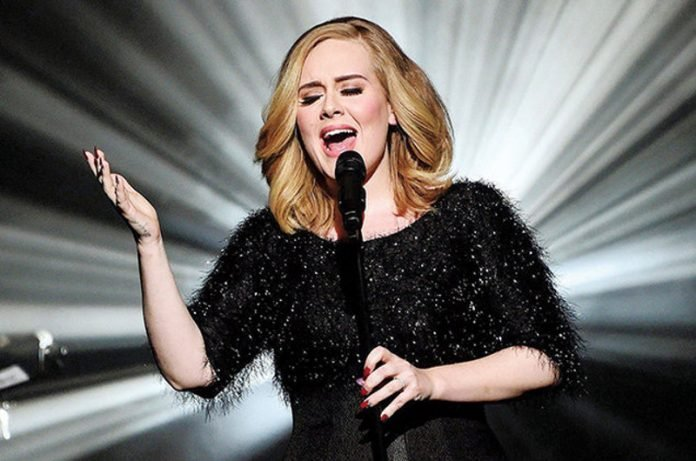 cantante Adele