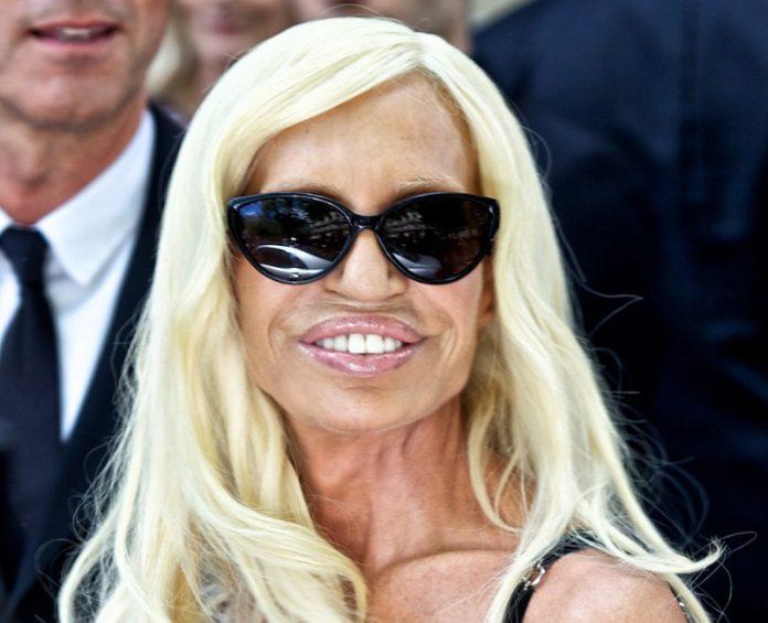 Donatella Versace dice ser