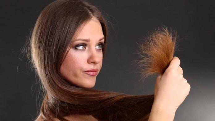 Puntas abiertas en el cabello