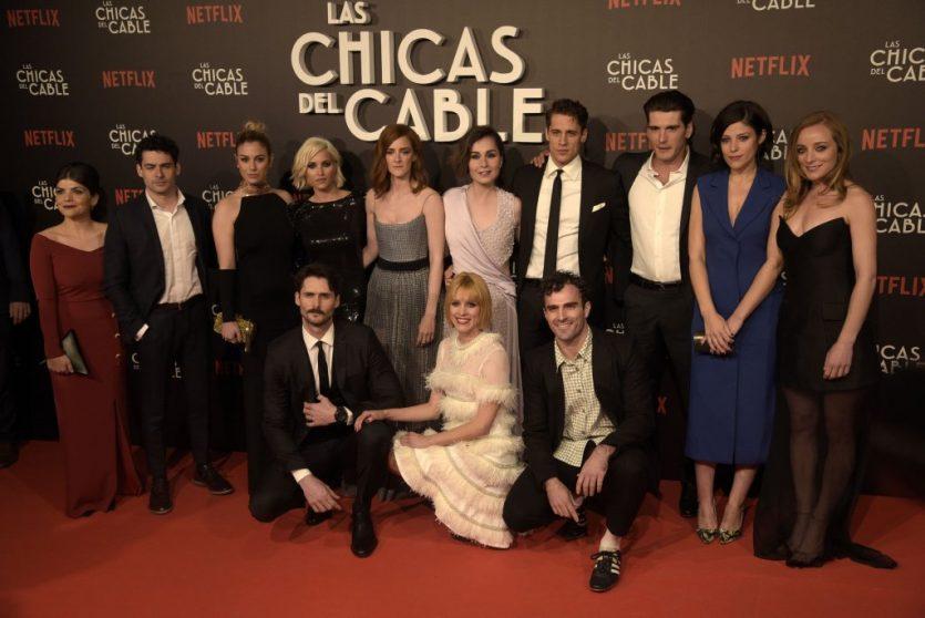 Series de Netflix, las chicas del cable