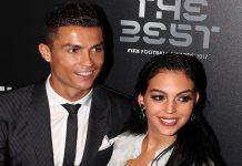 Georgina Rodríguez y Cristiano Ronaldo. Créditos: Getty Images