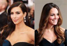 La duquesa Kate y Kim Kardashian