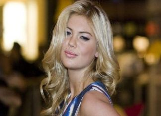 Kate Upton ha develado