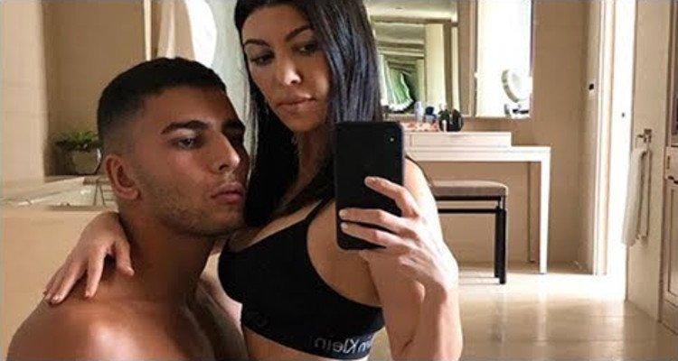Kourtney Kardashian y el modelo Younes Bendjima
