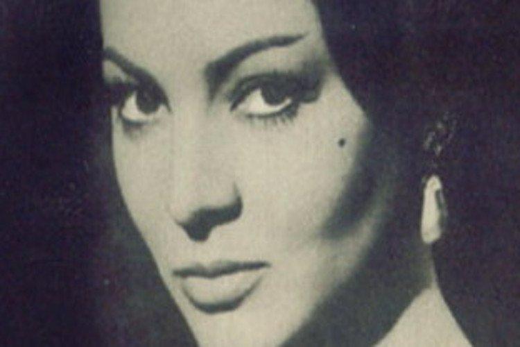 la actriz Sara Montiel