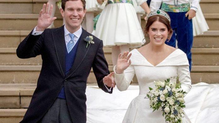 Eugenia de York y Jack Brooksbank ya son esposos