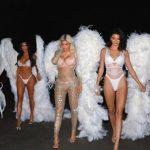 Las famosas se disfrazaron en Halloween, y las hermanitas Kardashian no pasaron desapercibidas
