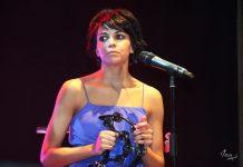 La cantante Raquel del Rosario
