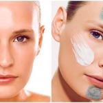 Lociones y máscaras para el cuidado de la piel