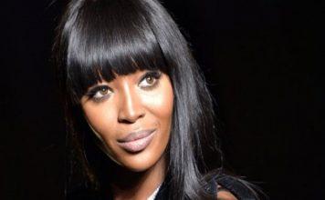 La top model Naomi Campbell