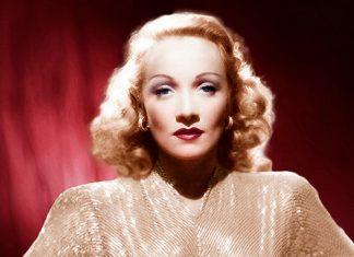 La actriz Marlene Dietrich