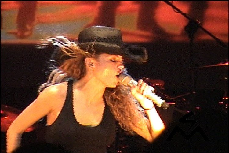 La cantante mexicana