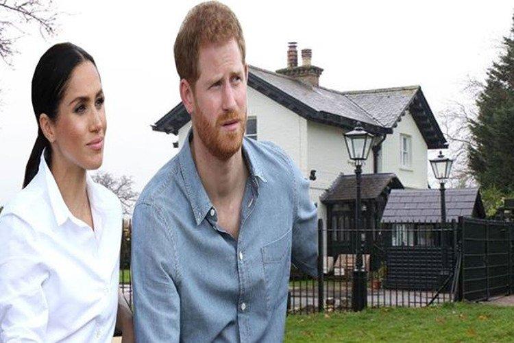 Meghan y el príncipe Harry