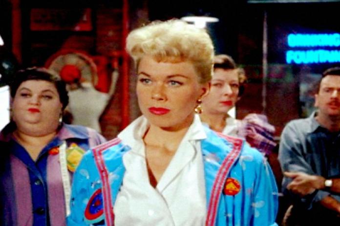 La actriz Doris Day
