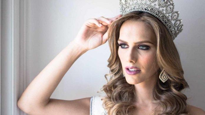 Miss España 2018 transgénero. La joven transexual Ángela Ponce