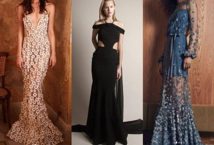 Los mejores vestidos de noche largos para boda del 2019