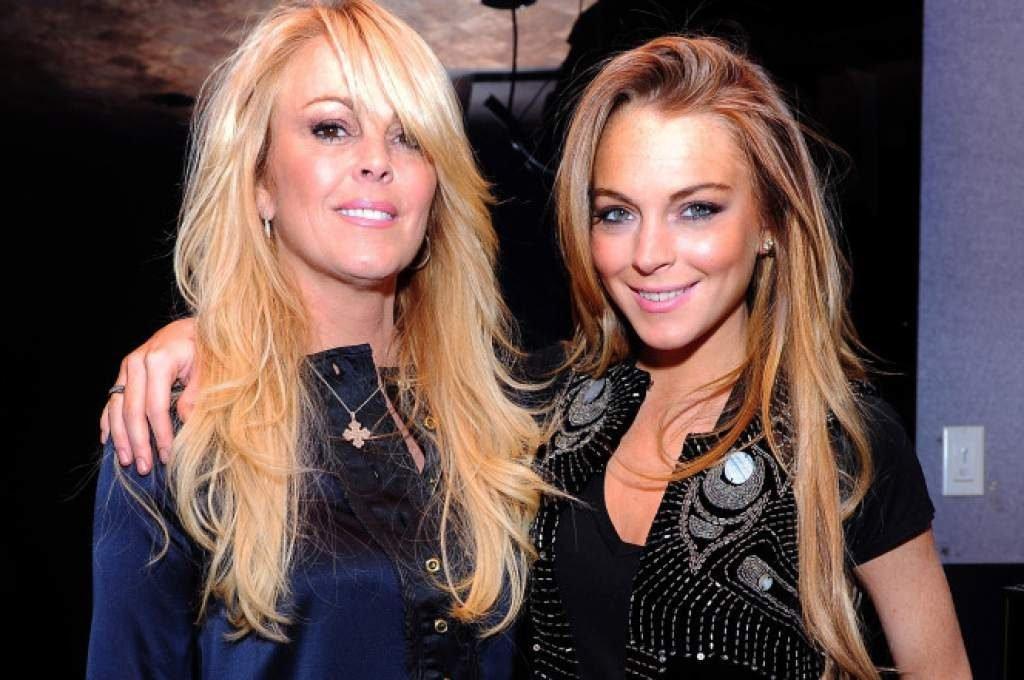 Lindsay Lohan y su madre Dina tampoco conectan demasiado bien
