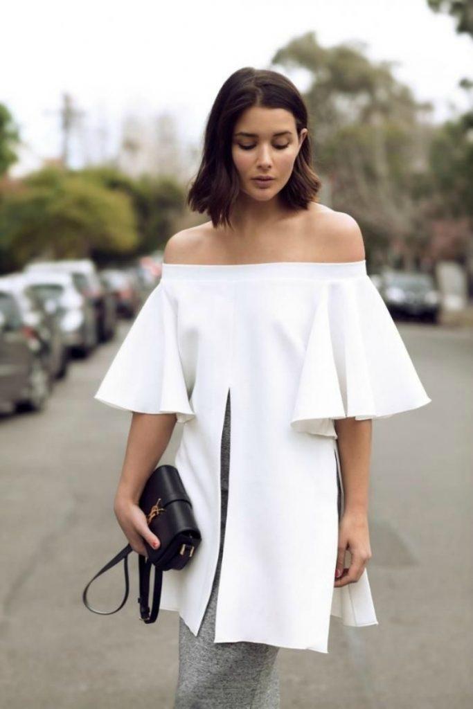 blusas blancas tendencias-2019