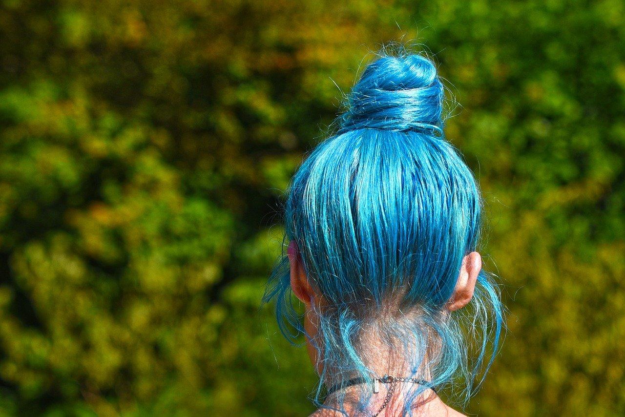 tintes de color turquesa