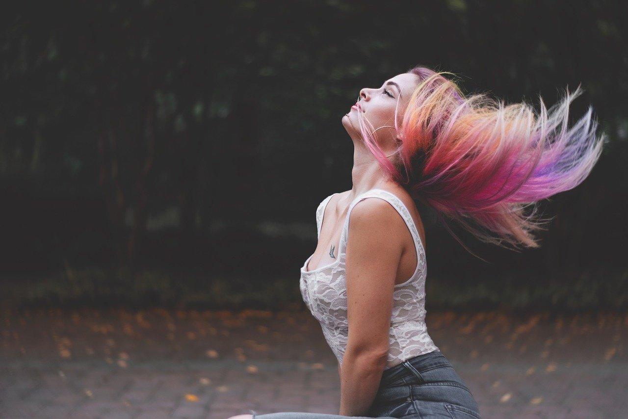 cabello múltiple color