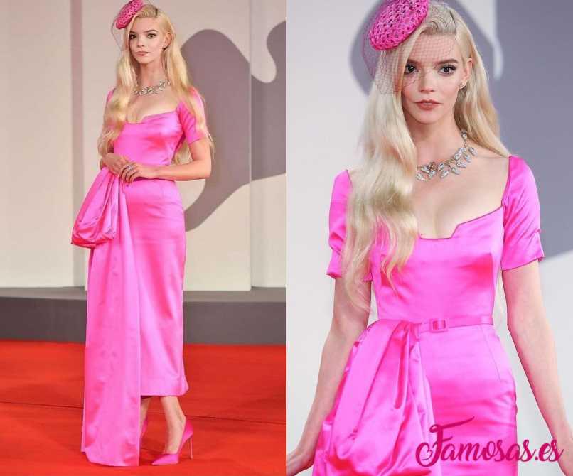 Anya Taylor-Joy vestido festival de venecia