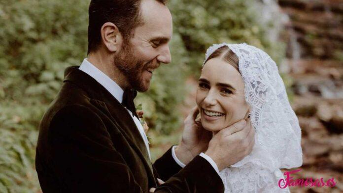 lily collins boda secreta